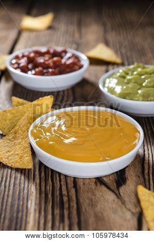 Three Different Nacho Dips