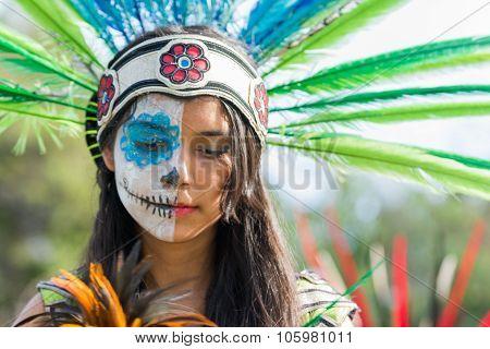 Conchera Dancer On Display