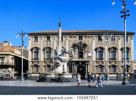 Liotro, Obelisk Monument, Catania