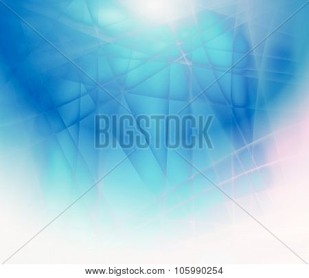 Textured Abstract Background Of Ice
