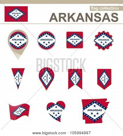 Arkansas Flag Collection
