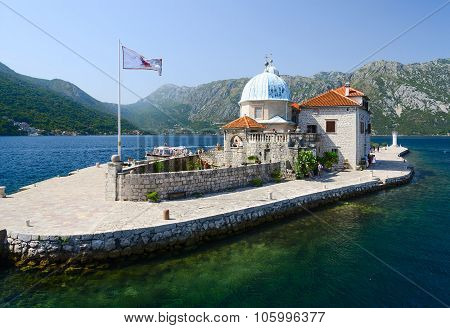 Island Of Virgin On The Reef (island Of Our Lady Of The Rocks), Montenegro