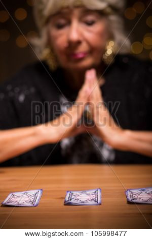 Fortune Teller Forecasting Future