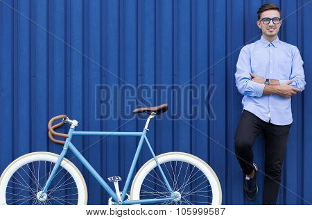 Elegant Fit Businessman