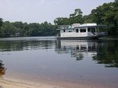 Suwannee River Houseboat
