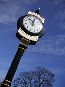 Clock Again Blue Sky poster