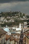 View On Quito City poster