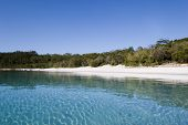 image of mckenzie  - landscape of lake mckenzie by day from water - JPG