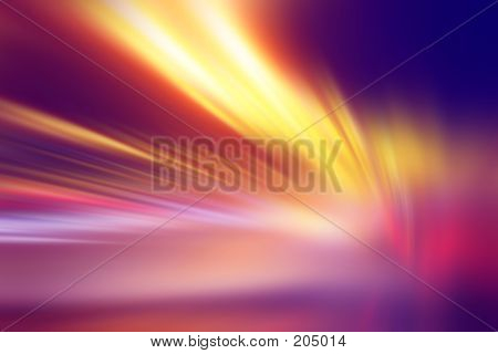 Abstract Multi Colour Streaks
