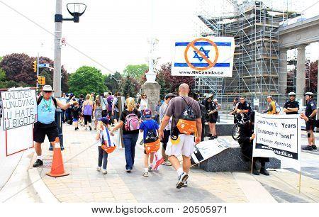 "Marsh ""Walk with Israel"" in Toronto"