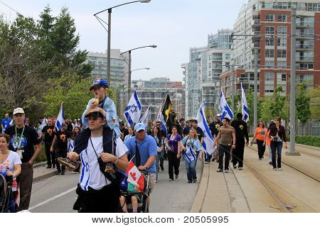 "The Annual Marsh ""Walk with Israel"""