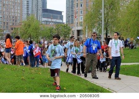 "Marsh ""Walk with Israel"" in Toronto"