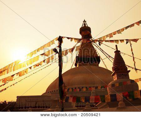Buddhist temple in Bago,Myanmar
