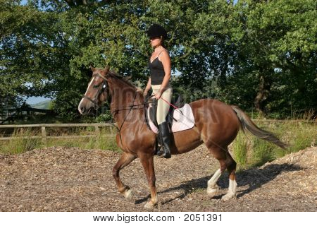 Upright Riding Posture