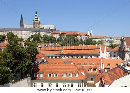 Prague, Hradcany Castle
