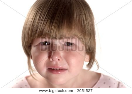 Crying Little Girl