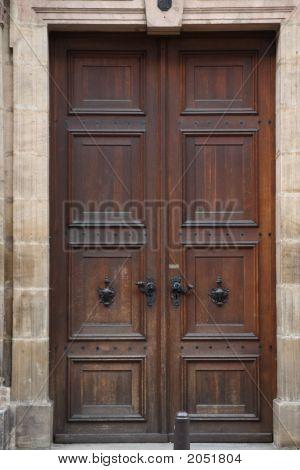 Tall Wooden Doors