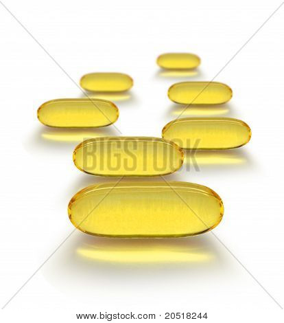 Transparent Medicine Capsules