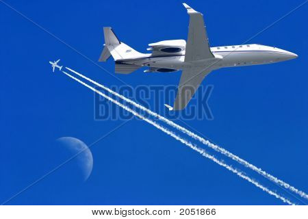 Airplanes In The Sky