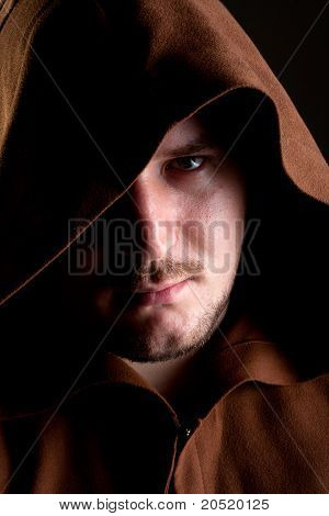 Retrato de monge