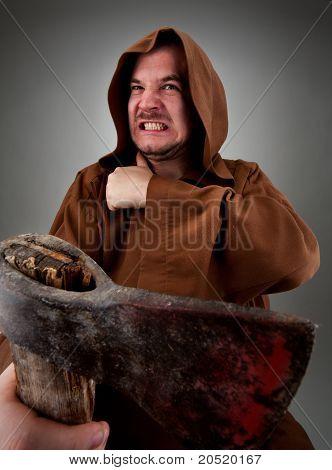 Furious Medieval Executioner
