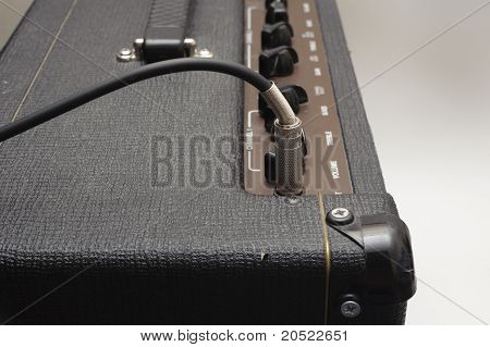 Guitar Amp And Cable