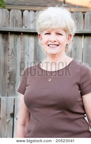 Attractive Senior Woman