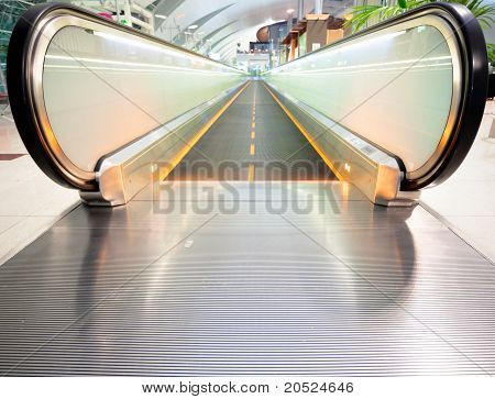 Empty Escalator
