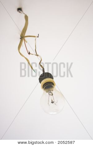 Old Fashioned Lightbulb
