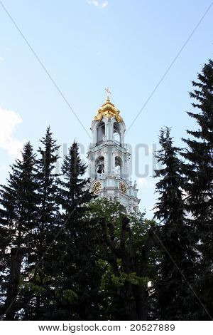 Belfry Of The Trinity Sergius Lavra