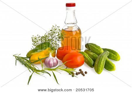 Vegetables With Vinegar