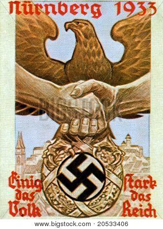 Nazi  Germany Nürnberg 1933