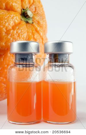 sterile orange juice