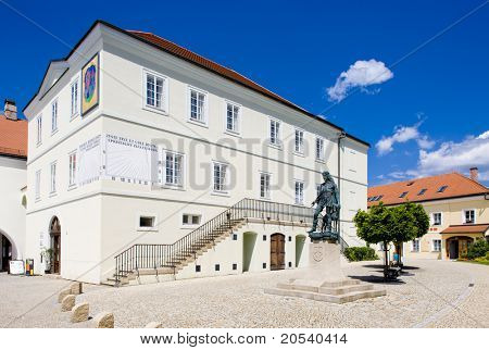 former town hall (now museum), Nove Mesto nad Metuji, Czech Republic