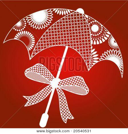 lacy umbrella