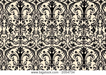 wallpaper design. Stock photo : Floral Wallpaper Design