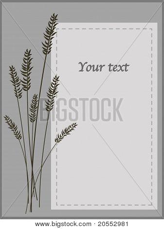 Monotone Card