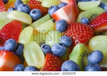 Colorful Fruit Salad