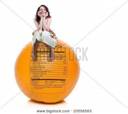 Woman Orange Nutrition Facts
