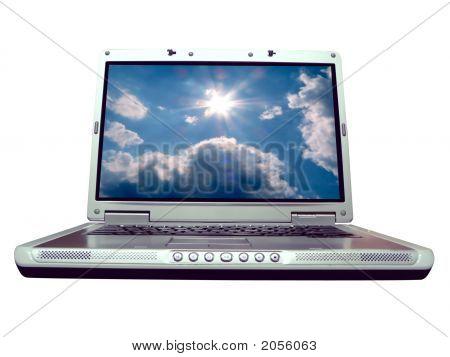Computer - Laptop Bluesky
