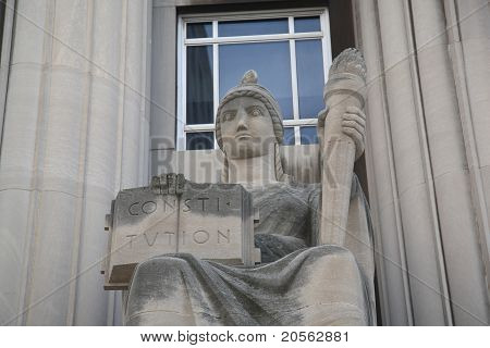 St. Louis Statue - Mel Carnahan Courthouse