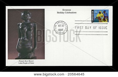 Usa 1997 Kwanzaa 1997 stamp cover