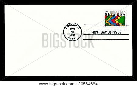 USA 2004  Kwanzaa stamp cover