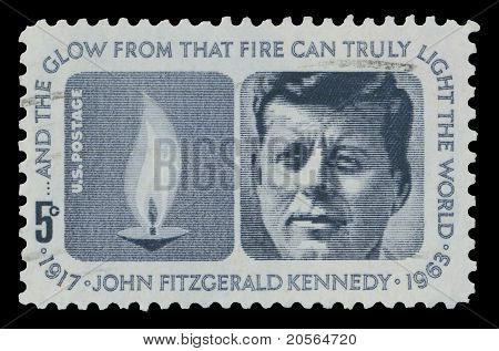 USA 1964 John F. Kennedy Memorial stamp