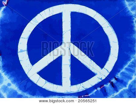 Tye Dye Peace Symbol Vector-stk.eps