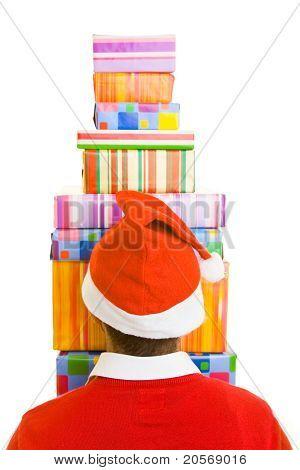 Santa Claus From Behind