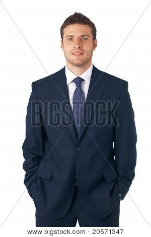 Businessman Standing.