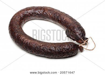 Morcilla. Spanish Blood Sausage