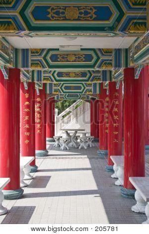 Temple-Korridor