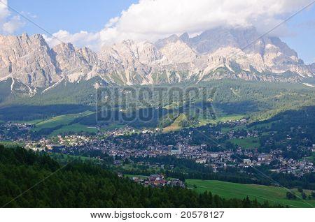 Cortina d'Ampezzo and Cristallo - Dolomites, Italy